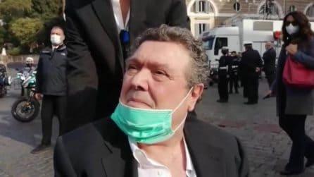 """Funerali Gigi Proietti, il ricordo di Rodolfo Laganà: """"Per me era tutto, mi ha insegnato tanto"""""""