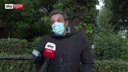 """Funerali Gigi Proietti, Flavio Insinna: """"Sarò sempre il suo allievo"""""""