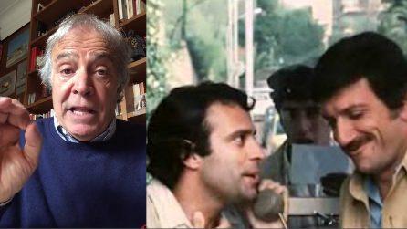 """Gigi Proietti, 'Er Pomata' Montesano gli dedica un sonetto: """"Mandrà, me senti da lassù?"""""""