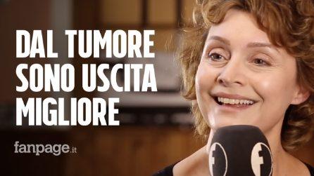 """Sabrina Paravicini: """"Dopo il tumore ho cominciato a volermi più bene"""""""