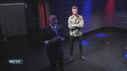 Grande Fratello VIP - Paolo Brosio e Andrea Zelletta finiscono al televoto