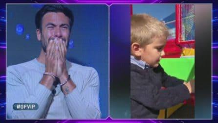 Grande Fratello VIP - Pierpaolo Pretelli in lacrime per il figlio Leonardo