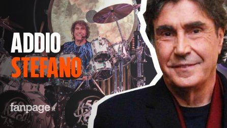 Morto Stefano D'Orazio, lo storico batterista dei Pooh morto di Covid a 72 anni