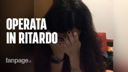 """La denuncia di Valentina: """"Il mio tumore operato dopo mesi per colpa dell'emergenza covid"""""""