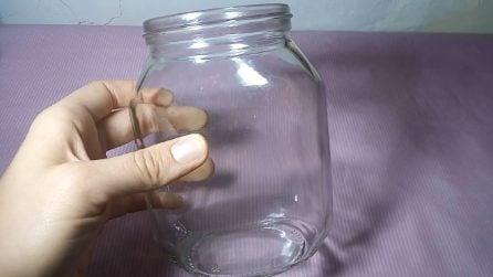 Riciclo barattolo di vetro: l'idea autunnale per la tua casa