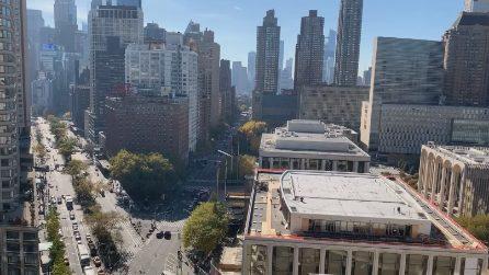 Joe Biden nuovo presidente degli Stati Uniti: caroselli in strada a New York