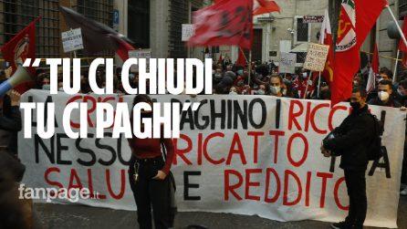 """Roma, l'abbraccio della piazza a medici e infermieri: """"No al ricatto tra salute e reddito"""""""