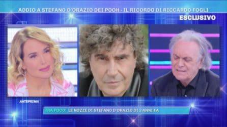 Barbara D'Urso racconta gli ultimi giorni di vita di Stefano D'Orazio