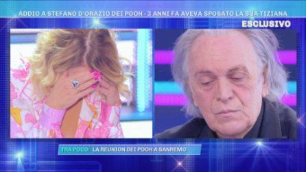 Barbara D'Urso scoppia a piangere ricordando Stefano D'Orazio