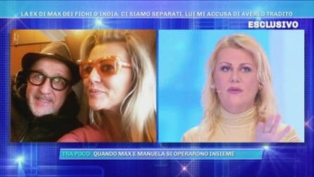 """La ex compagna di Max Cavallari: """"È finita, mi accusa di averlo tradito"""""""