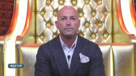 Stefano Bettarini squalificato al Grande Fratello Vip per bestemmia
