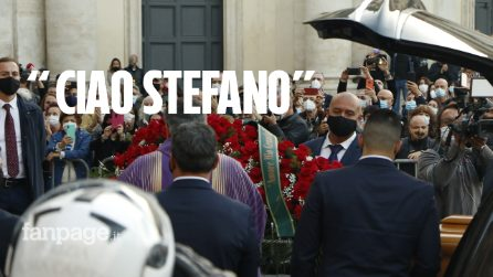 I funerali di Stefano D'Orazio dei Pooh, l'ultimo saluto in piazza del Popolo