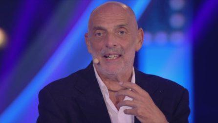 """Paolo Brosio e la frase sulle camere a gas: """"Non la ricordo"""""""