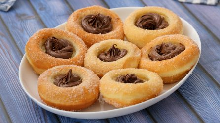 Donut bowls: fluffy and easy to make!