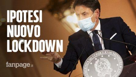 Coronavirus, sul tavolo ipotesi nuovo lockdown: Conte attende il 15 novembre prima decidere