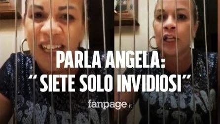 """Angela da Mondello contro chi l'accusa: """"Non sono in carcere, siete solo invidiosi"""""""