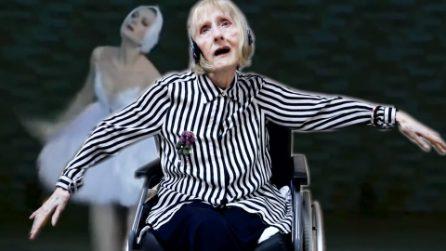 L'ex ballerina è affetta da Alzheimer ma quando ascolta la musica si risveglia la memoria del cuore