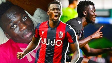 """Dalla povertà del Gambia alla Serie A, la favola di Barrow: """"Giocavo in strada, ora sono felice"""""""