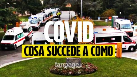 """Viaggio a Como e provincia, dove le ambulanze aspettano in coda: """"Situazione sempre più critica"""""""