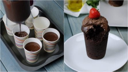 Chocolate minicakes: the trick to try right now!