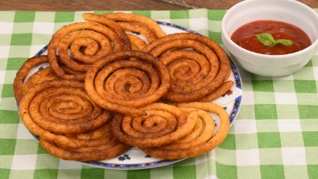 Potato spirals: the result will leave everyone speechless!