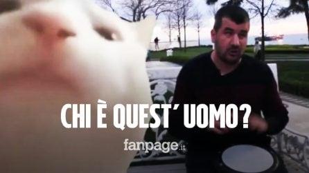 Il percussionista di strada con il gatto che balla: ecco chi è Bilal Göregen, protagonista del meme