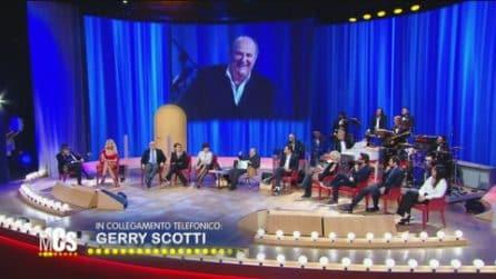 """Gerry Scotti al Maurizio Costanzo Show: """"Sto bene, sono negativo"""""""