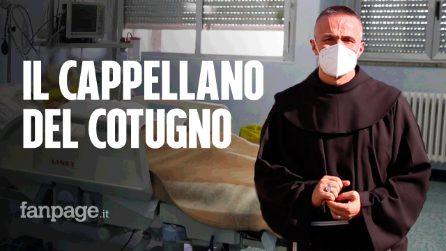 Fra Vellutino, il cappellano assiste i malati Covid che muoiono soli, senza la famiglia