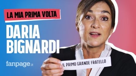 La prima volta di Daria Bignardi