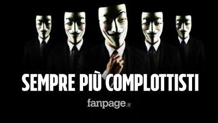 In Italia sempre più complottisti: per il 5% il Covid non esiste e per il 20% creato in laboratorio