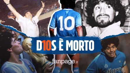 Morto Diego Armando Maradona: la leggenda del calcio portata via da un arresto cardiaco