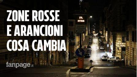 Covid, cosa cambia da oggi in Italia: le nuove zone rosse e arancioni