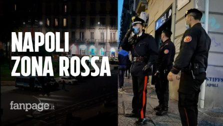 Campania zona rossa: la città di Napoli è deserta. Attimi di tensione a Piazza Garibaldi