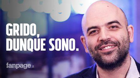 """Roberto Saviano: """"Gridalo, altrimenti il potere ti fregherà"""""""