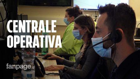 """Roma, viaggio nella centrale operativa del 118: """"Una telefonata su quattro è per Covid"""""""