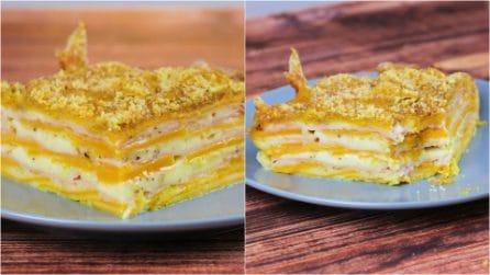 Parmigiana di zucca a crudo: l'idea sfiziosa per una cena da leccarsi i baffi!