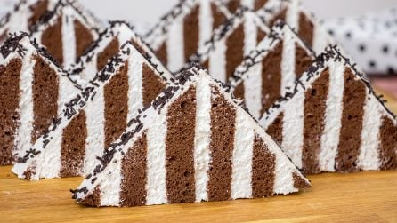 Chocolate pyramids: a delicious recipe to try!