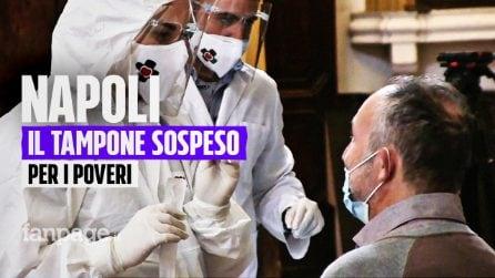 A Napoli si fa il tampone solidale: test Covid ai poveri che non possono pagarlo