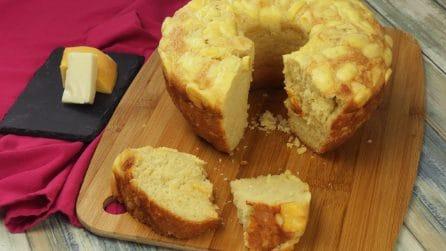 Ciambella di pane al formaggio: perfetta per accompagnare ogni tipo di piatto!