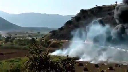 Messico: autocisterna di gas esplode, 14 morti in autostrada