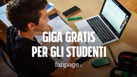 Giga gratis per gli studenti in Dad: la didattica a distanza gratuita con tutti gli operatori