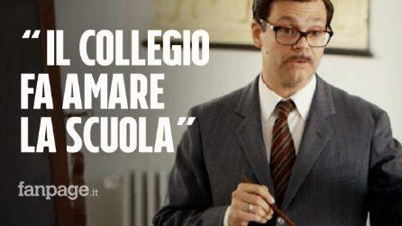 """Il prof Luca Raina: """"Il Collegio insegna ad amare la scuola, oggi serve più che mai"""""""