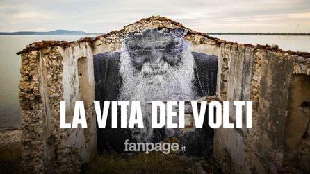 Le gigantografie che celebrano le persone comuni: l'arte di Alessandro nelle città italiane