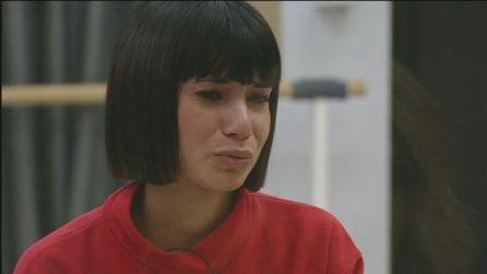 Amici 2020, Martina in lacrime si confida con la maestra Lorella Cuccarini