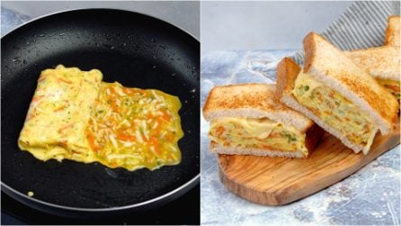 Korean toast: a delicious sandwich ready in no-time!
