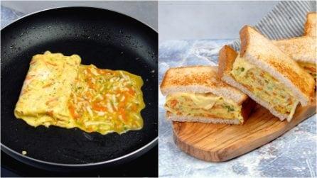 Toast frittata: lo snack delizioso che si prepara in pochi passi!