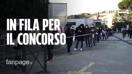 """Roma, in 4mila per il concorso psicologi tra distanziamento e mascherine: """"Lo aspettavamo da anni"""""""