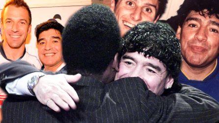 """""""Diego è eterno"""", da Messi a Macron: il ricordo di Maradona nel mondo attraverso aneddoti e immagini"""