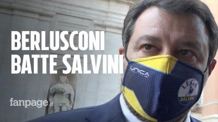 """Centrodestra vota col governo. D'Incà: """"Merito di FI"""", Salvini: """"No, abbiamo deciso insieme"""""""