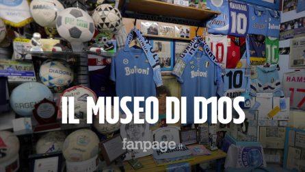"""Il museo di Diego Armando Maradona in uno scantinato di Napoli:""""Qui suoi cimeli originali per tutti"""""""